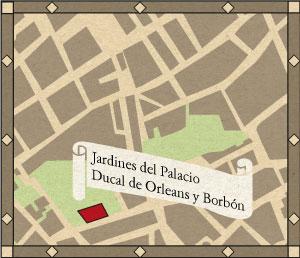 Jardines del Palacio Ducal de Orleans y Borbón