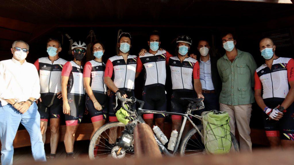 llegada a Sevilla ruta en bici